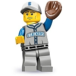 LEGO Minifigures Series 10 Baseball Fielder