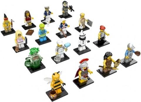 LEGO Minifigures Series 10 Details