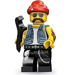 LEGO Minifigures Series 10 Motorcycle Mechanic