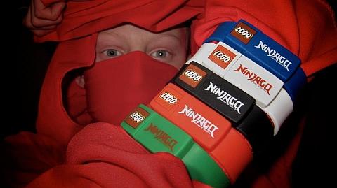 LEGO Ninjago USB Wristband