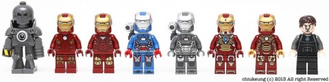 LEGO Super Heroes Iron Man Suits