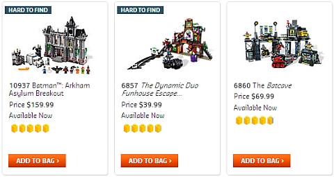 LEGO Super Heroes Sets - DC Super Heroes