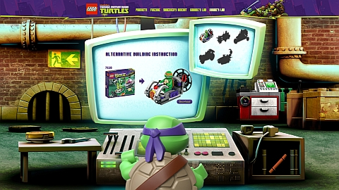 LEGO Teenage Mutant Ninja Turtles Donnie's Lab