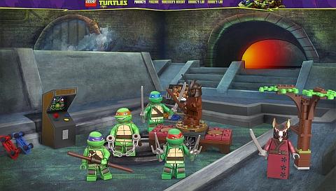 LEGO Teenage Mutant Ninja Turtles Website