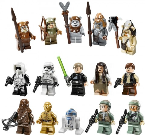 #10236 LEGO Star Wars Ewok Village Minifigures Collection