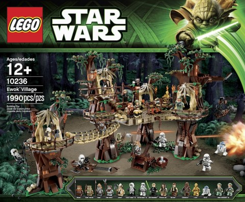 #10236 LEGO Star Wars Ewok Village Press Release
