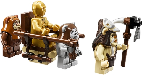 #10236 LEGO Star Wars Ewok Village Scene
