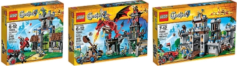 2013 LEGO Castle Sets Review