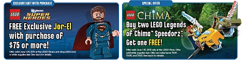 2013 LEGO Summer Sales