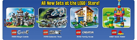 2013 LEGO Summer Sets