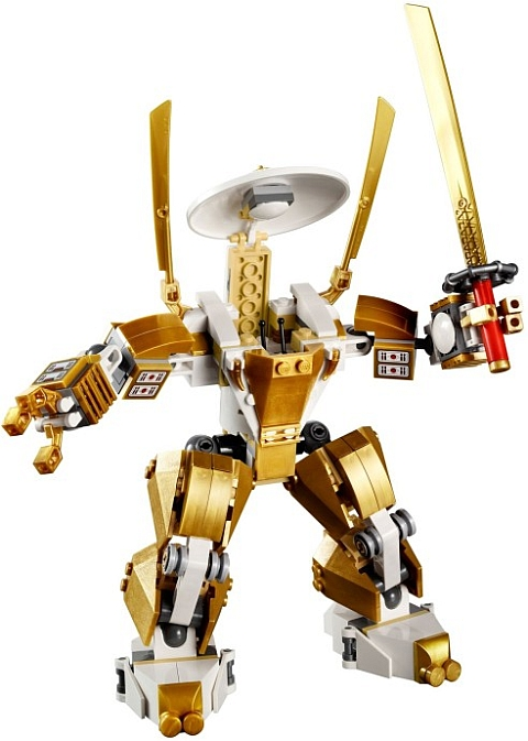 #70505 LEGO Ninjago Temple of Light Gold Mech