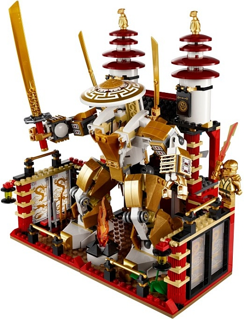 #70505 LEGO Ninjago Temple of Light Interior