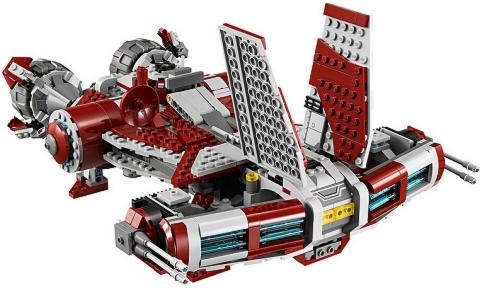 #75025 LEGO Star Wars Jedi Defender-class Cruiser Back