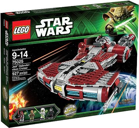 #75025 LEGO Star Wars Jedi Defender-class Cruiser