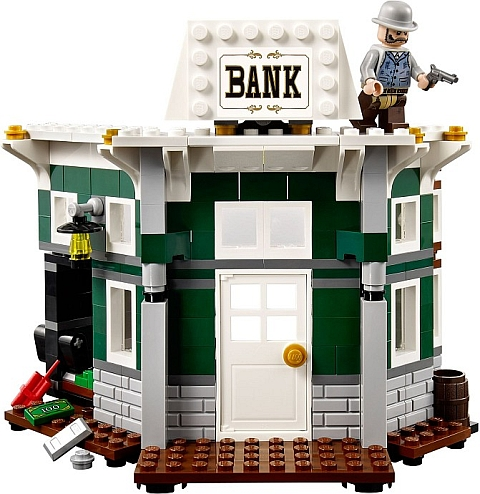 #79109 LEGO Lone Ranger Colby City Showdown Bank Review