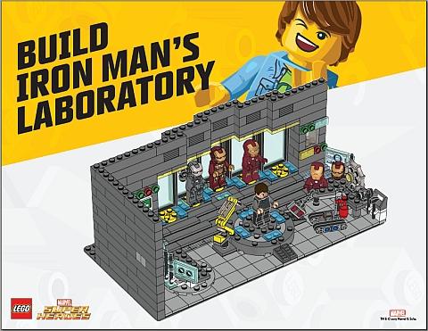 Build LEGO Iron Man's Laboratory