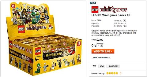 Buy LEGO Minifigures Series 10