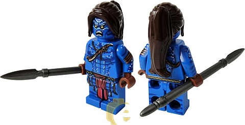 Custom LEGO Avatar Minifigure by EclipseGRAFX