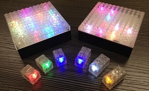 Custom LEGO Light Bricks Options