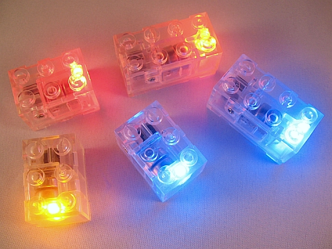 Custom LEGO Light Up Bricks