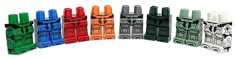 Custom LEGO Minifig Legs by EclipseGRAFX