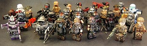 Custom LEGO Minifigures by EclipseGRAFX