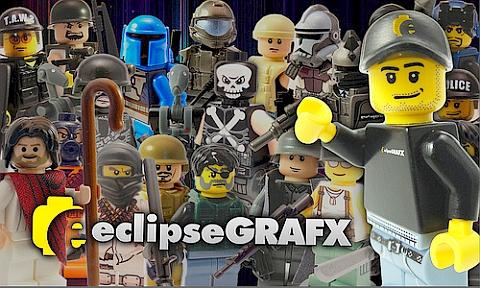 Custom LEGO by EclipseGRAFX