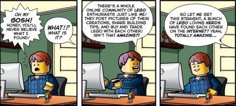 LEGO AFOL Comic by FBTB.net