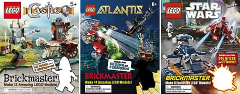 LEGO BrickMaster Books Review