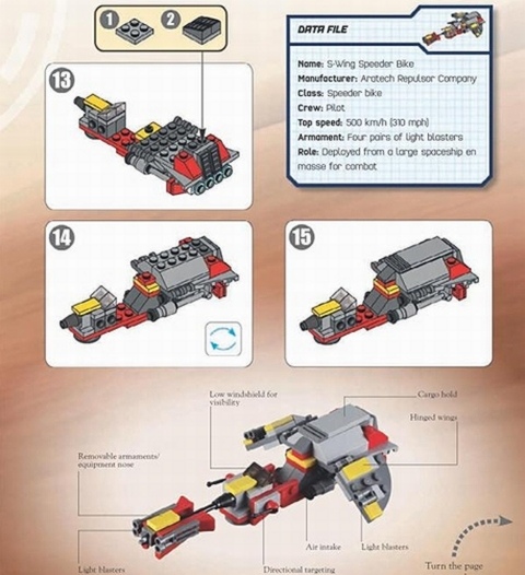 LEGO BrickMaster Star Wars Pages