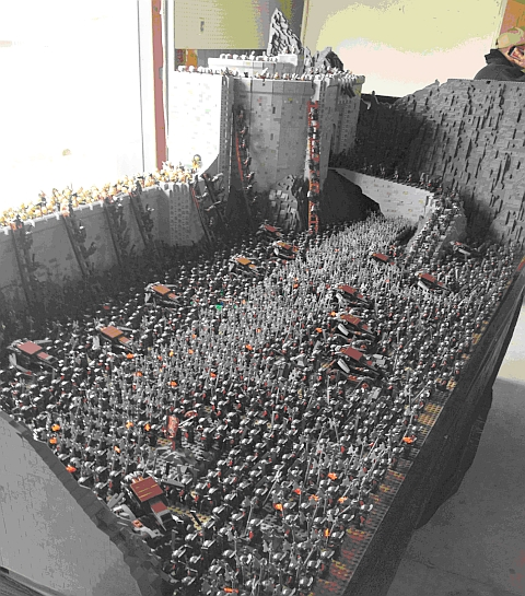 LEGO LUG Expo - Battle of Helm's Deep