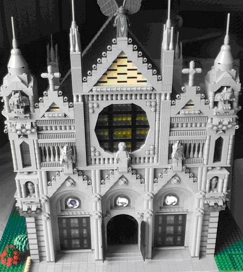 LEGO LUG Expo- LEGO Cathedral