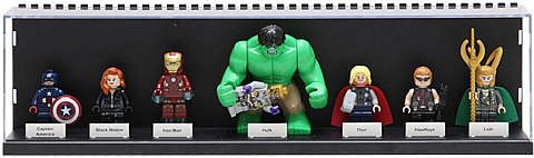 LEGO Minifig Display Case Minifigure Collection
