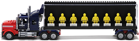 LEGO Minifigure Display Case Idea