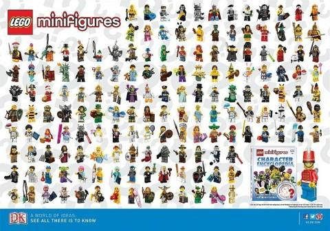 LEGO Minifigures Poster Series 1-10