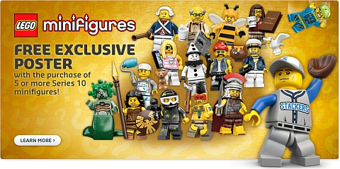 LEGO Minifigures Series 10 Poster