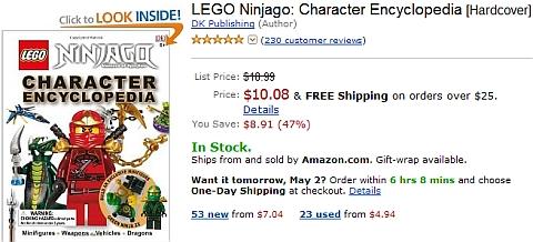 LEGO Ninjago - Characters Book