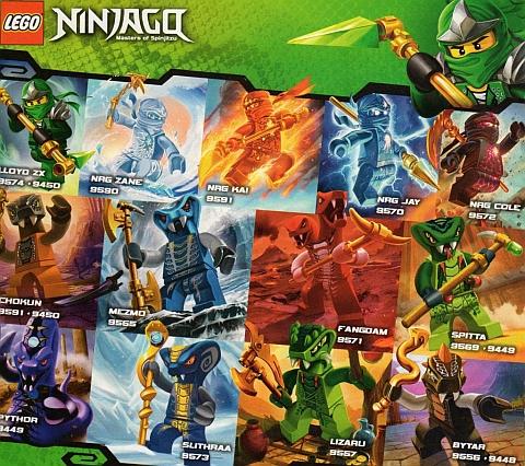 LEGO Ninjago - Characters