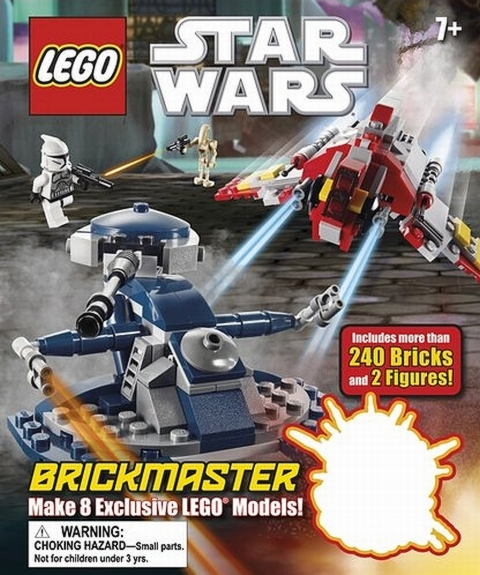 LEGO Star Wars BrickMaster Book Review