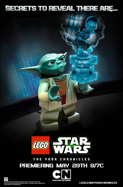 LEGO Star Wars The Yoda Chronicles Poster