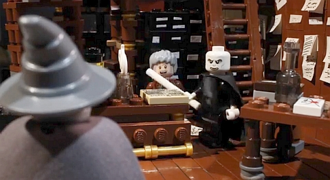 LEGO Video Scene by the Brotherhood Workshop