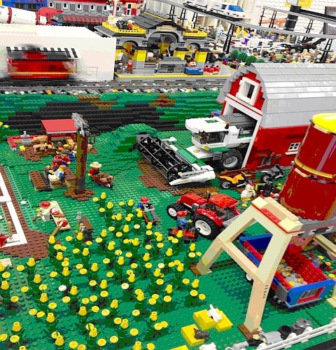 LEGo Lug Expo - LEGO Farm