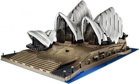 #10234 LEGO Sydney Opera House Back Details