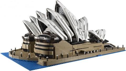 #10234 LEGO Sydney Opera House Front Details
