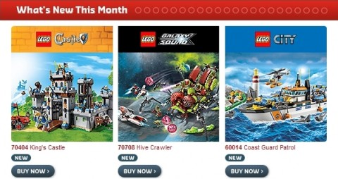 2013 Summer LEGO Sets