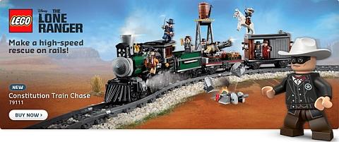 2013 Summer LEGO Sets - LEGO Lone Ranger