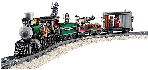 #79111 LEGO Lone Ranger Constitution Train Chase Review