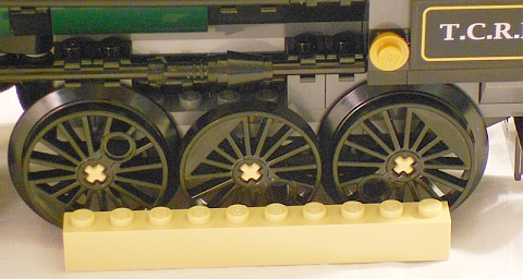 #79111 LEGO Lone Ranger Constitution Train Chase Wheel Details