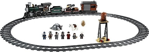 #79111 LEGO Lone Ranger Constitution Train Chase