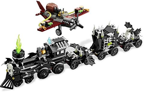 #9467 LEGO Monster Fighters Ghost Train Details